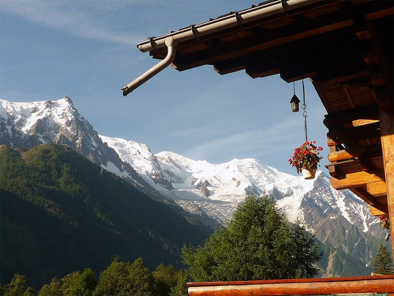 View from the property Location Chalet 88059 Chamonix Mont-Blanc