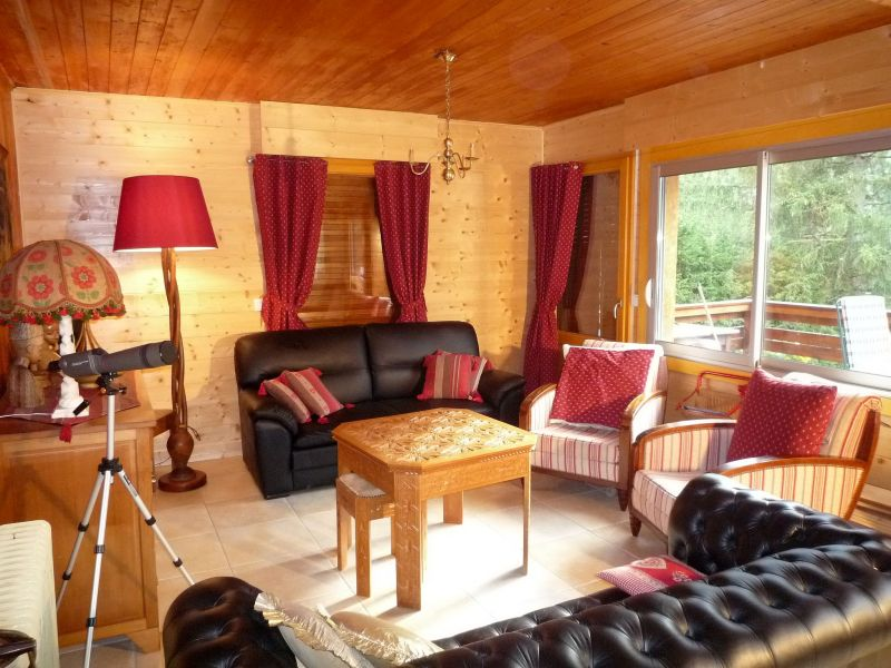 Sitting room Location Chalet 88059 Chamonix Mont-Blanc