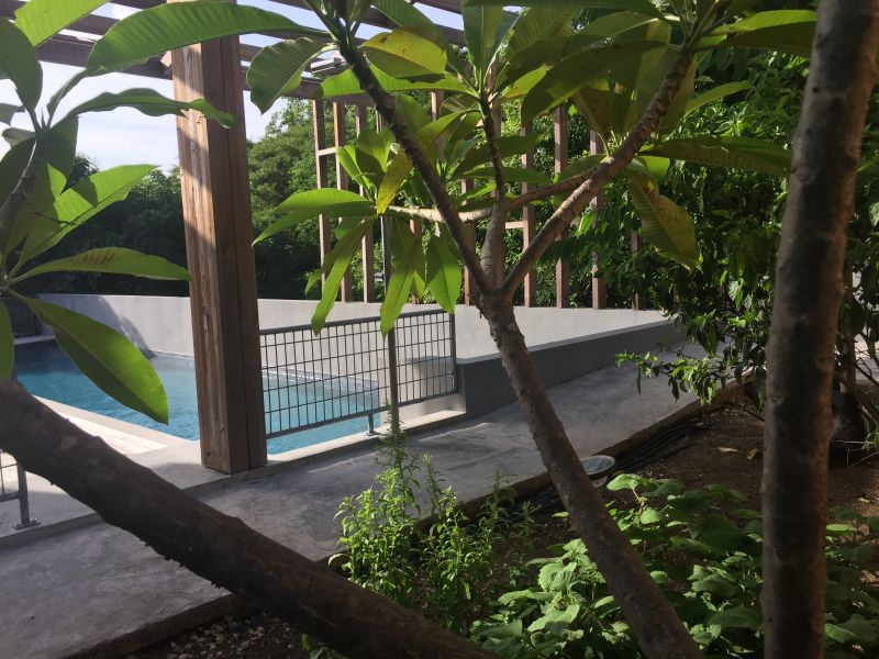 View from terrace Location Offbeat B&B 93210 Gosier (Guadeloupe)