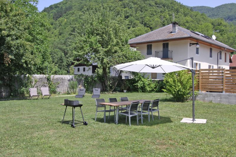 Garden Location Self-catering property 101879 Annecy