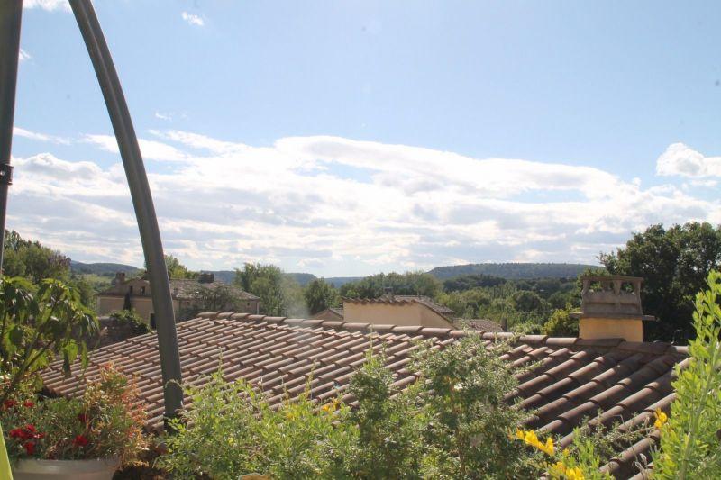 View from terrace Location House 115901 Vaison la Romaine