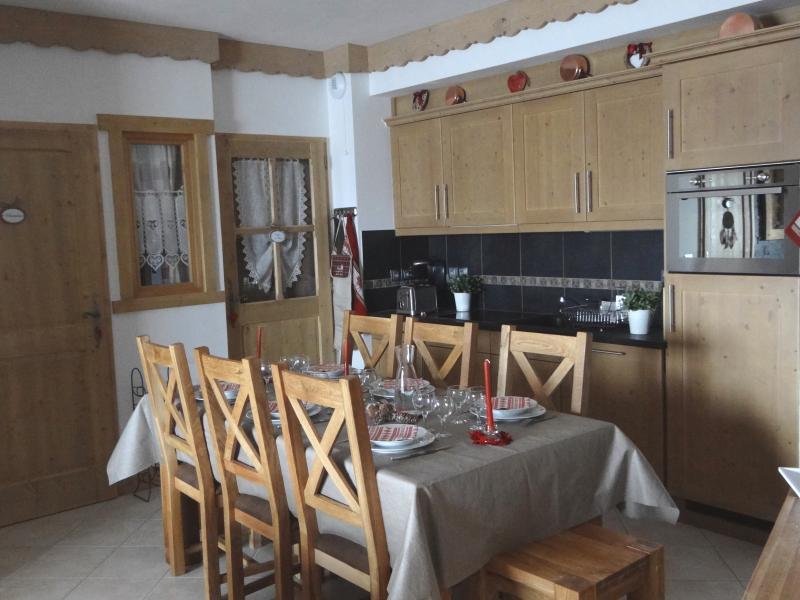 Dining room Location Apartment 66491 Les Saisies