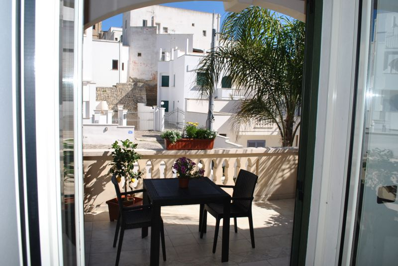 View from the balcony Location Apartment 72290 Santa Maria di Leuca