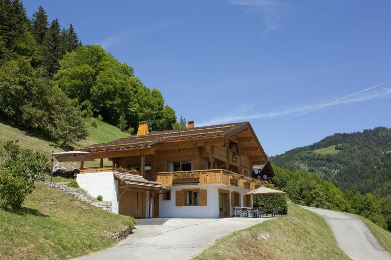 Outside view Location Chalet 86535 Le Grand Bornand