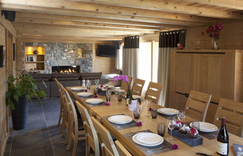 Dining room Location Chalet 86535 Le Grand Bornand
