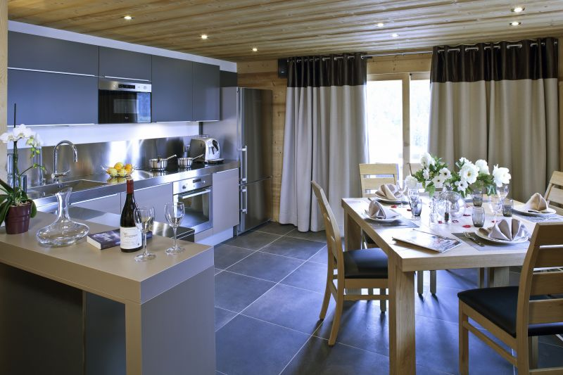 Open-plan kitchen 2 Location Chalet 86535 Le Grand Bornand