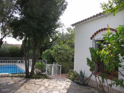 Swimming pool Location Villa 92322 Rosas