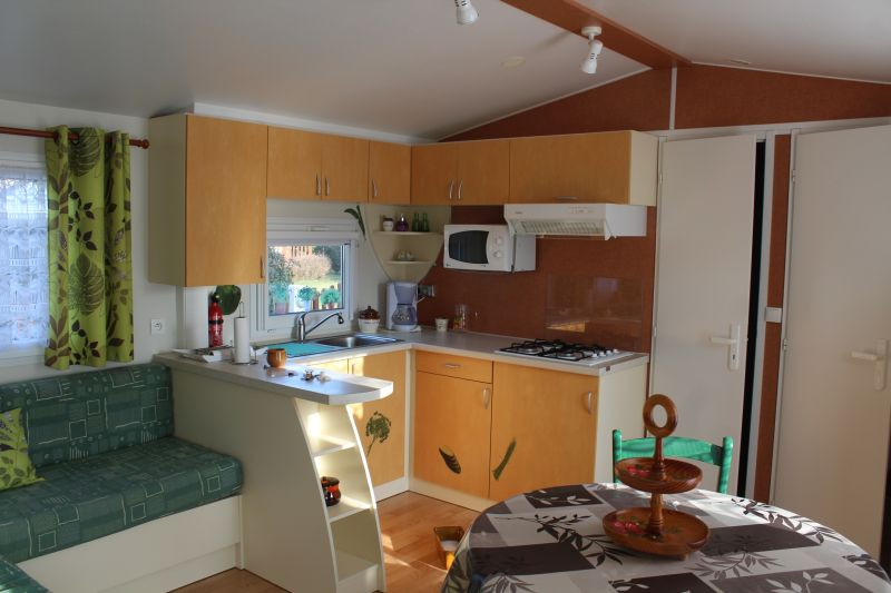 Summer kitchen Location Mobile home 95348 Quend Plage