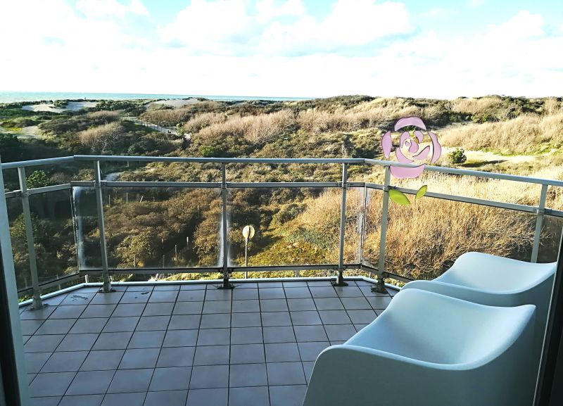 View from the balcony Location Studio apartment 104169 Le Touquet