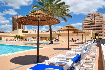 Swimming pool Location Studio apartment 108650 Praia da Rocha
