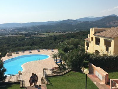 Swimming pool Location Apartment 113467 Budoni
