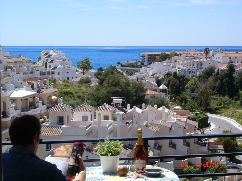 View from terrace Location Apartment 114121 Nerja