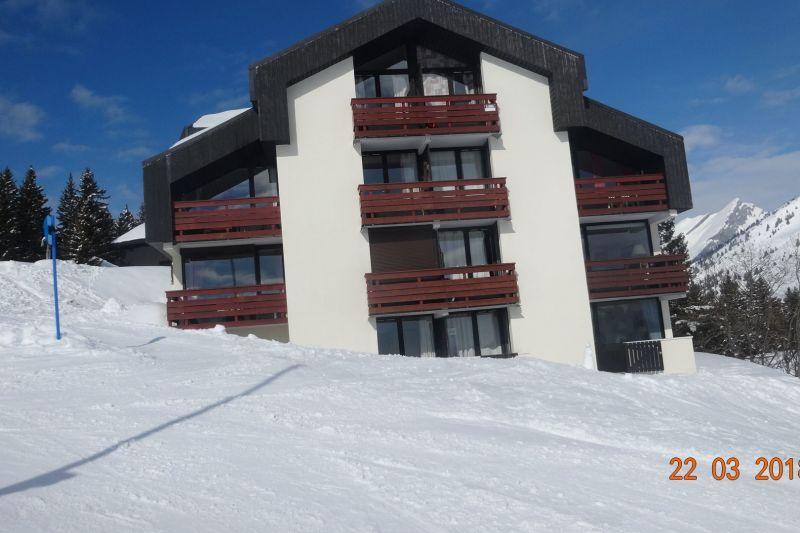 Outside view Location Apartment 116760 Manigod-Croix Fry/L'étale-Merdassier