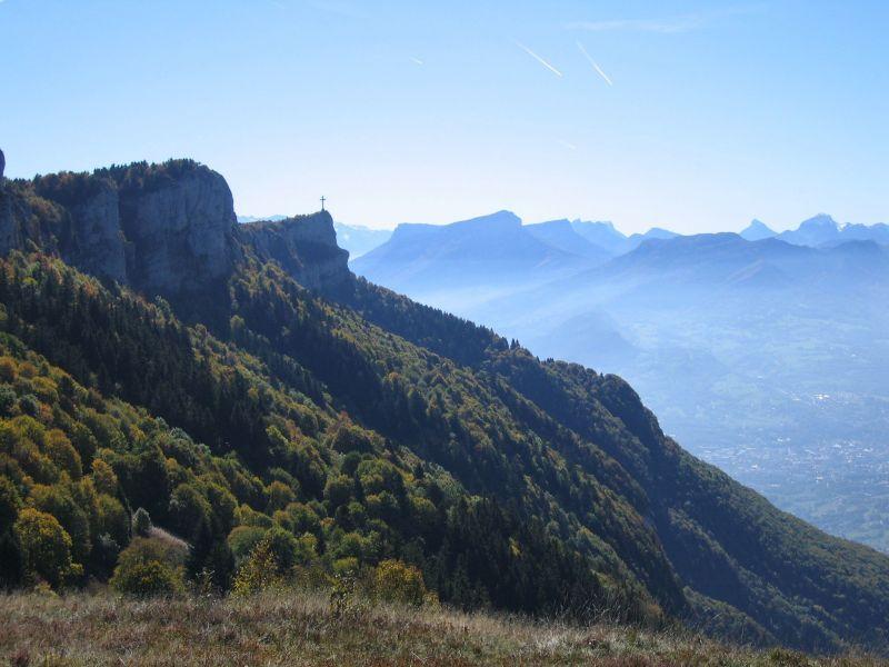Surroundings Location Chalet 65968 La Féclaz