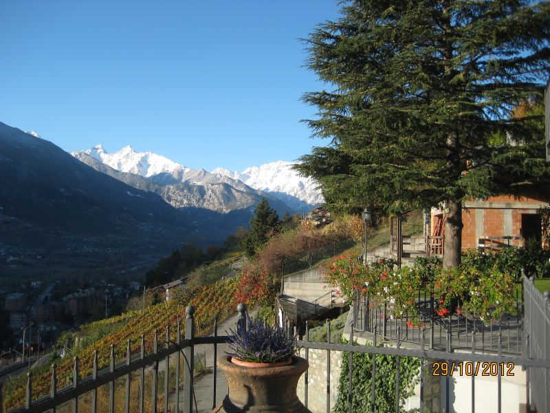 View from the property Location Apartment 75618 Aosta