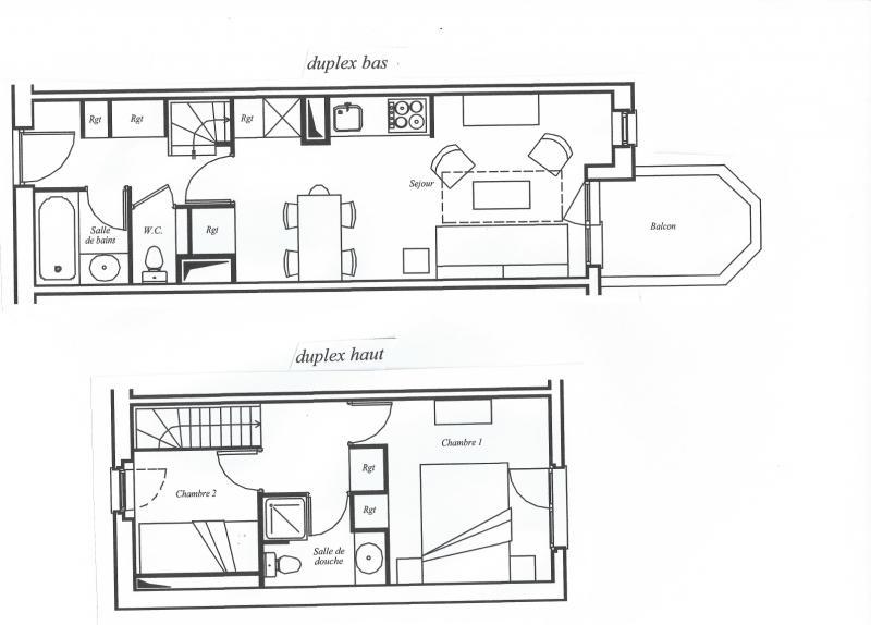 Property map Location Apartment 80667 Avoriaz