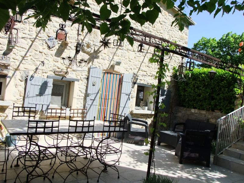 Terrace Location Self-catering property 83791 Nyons