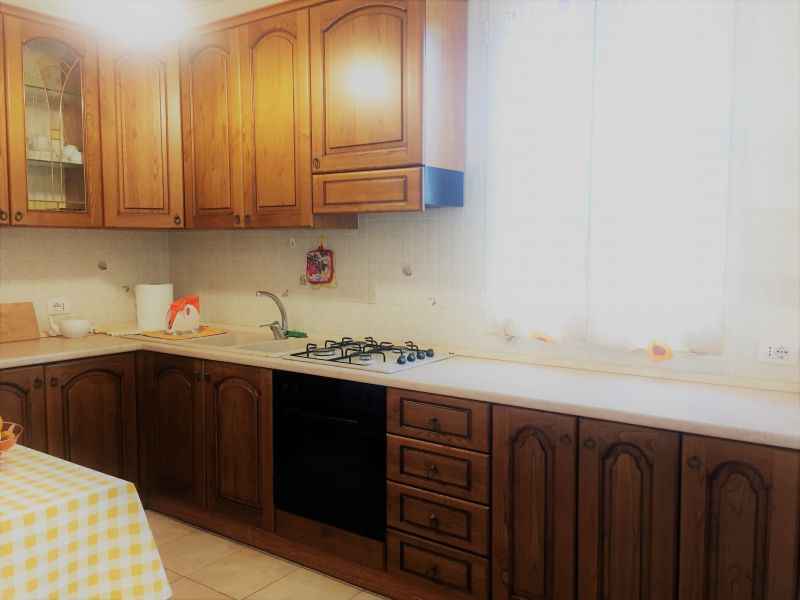 Kitchenette Location Apartment 94486 Ugento - Torre San Giovanni