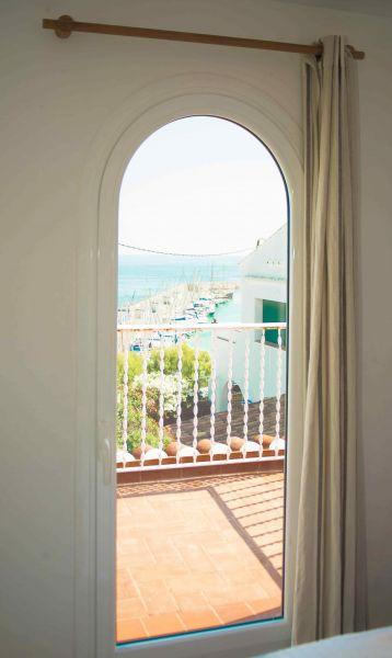 View from the balcony Location Villa 95047 Barcelona