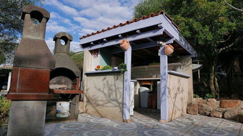 Summer kitchen Location Studio apartment 7879 Porto Pollo