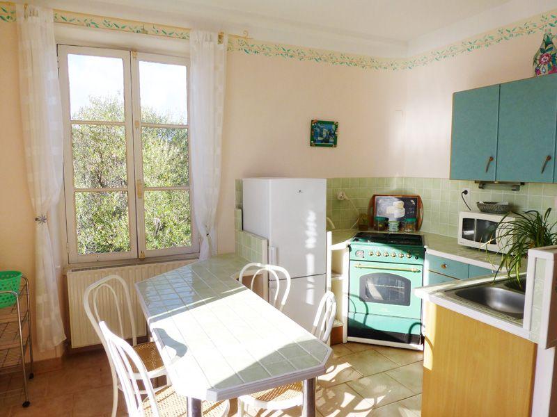 Open-plan kitchen Location Apartment 7881 Porto Pollo