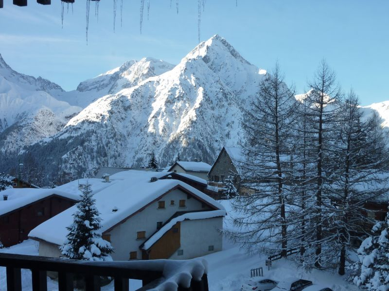 View from the balcony Location Apartment 111830 Les 2 Alpes