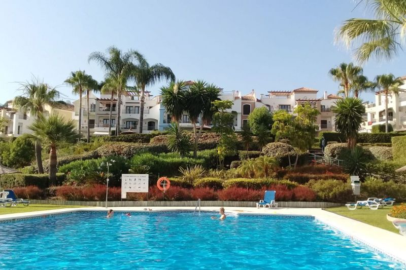 Swimming pool Location Apartment 117350 Marbella