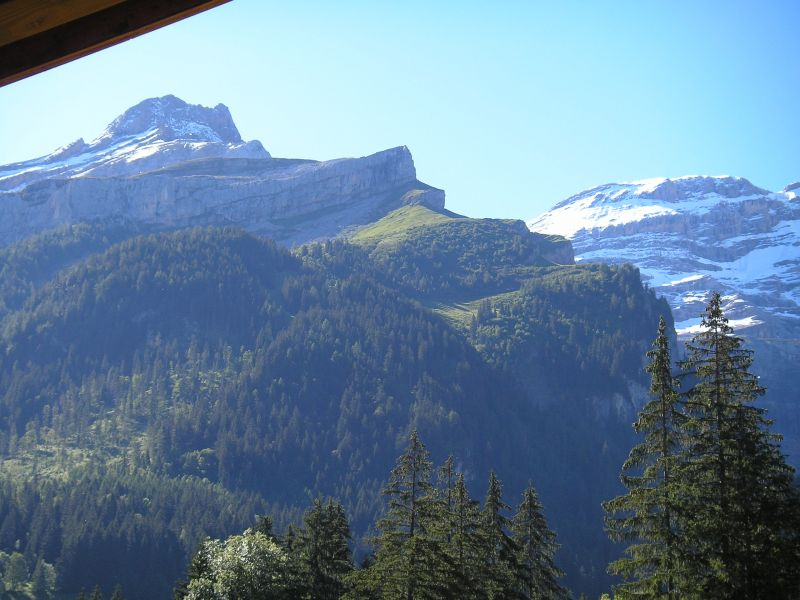 View from the balcony Location Apartment 73953 Les Diablerets