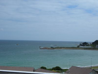 View from the balcony Location One-room studio flat 101648 Trevou Treguignec