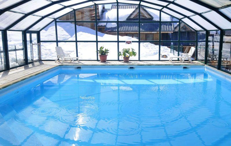 Swimming pool Location Chalet 107261 Saint François Longchamp