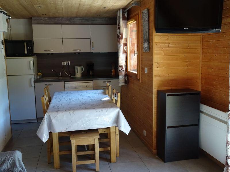 Dining room Location Chalet 107261 Saint François Longchamp