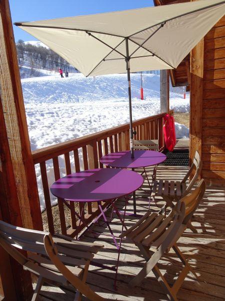 Terrace Location Chalet 107261 Saint François Longchamp