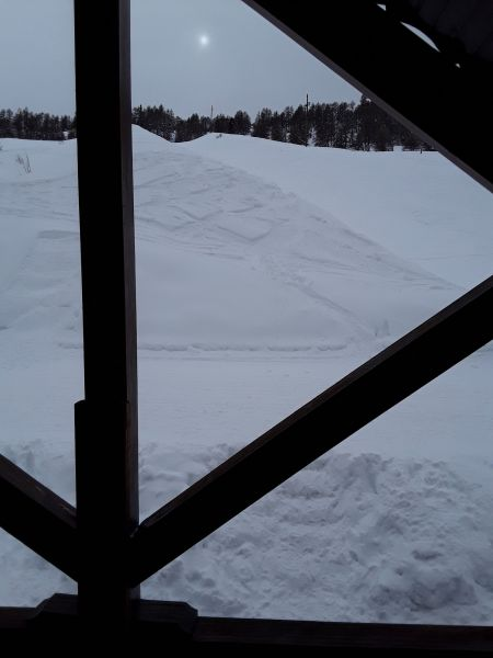View from the property Location Chalet 111824 Risoul 1850