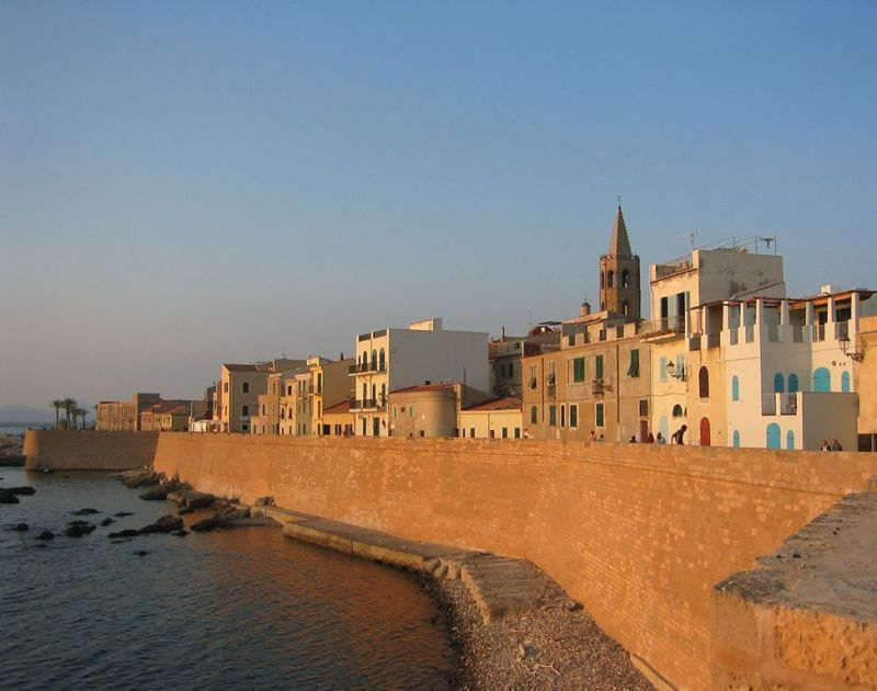 Outside view Location Apartment 114225 Alghero