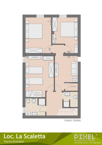 Area map Location Villa 65699 Alghero