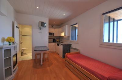 Living room Location One-room studio flat 66662 Arette La Pierre Saint Martin