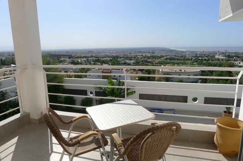View from the balcony Location Villa 76643 Agadir
