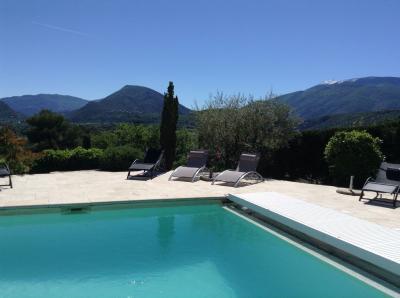 View from terrace Location Villa 82681 Vaison la Romaine
