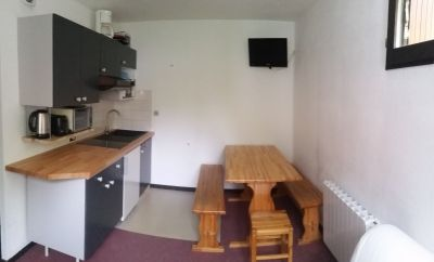 Living room Location Studio apartment 92522 Le Collet d'Allevard