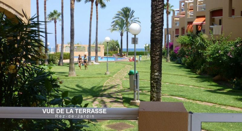 View from terrace Location Apartment 101883 Denia