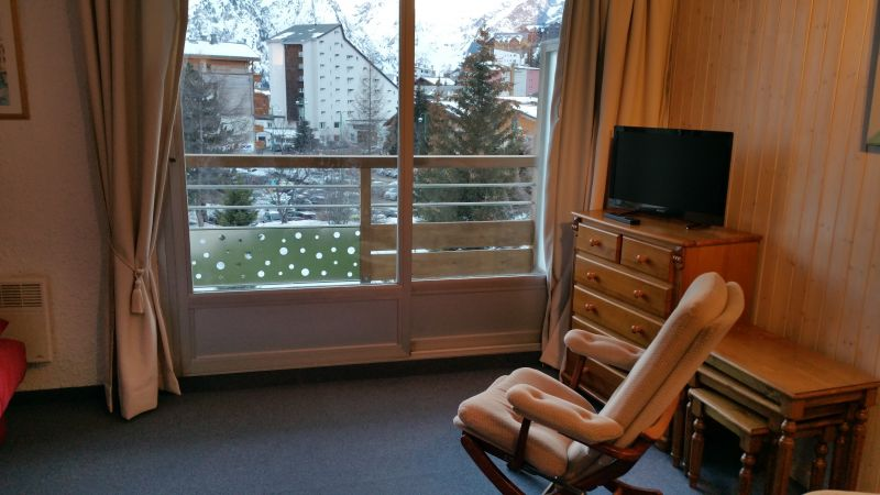 Living room Location Studio apartment 107074 Les 2 Alpes