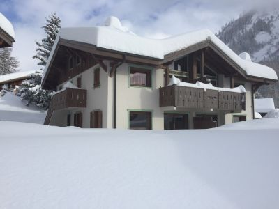 Outside view Location Apartment 109896 Argentière