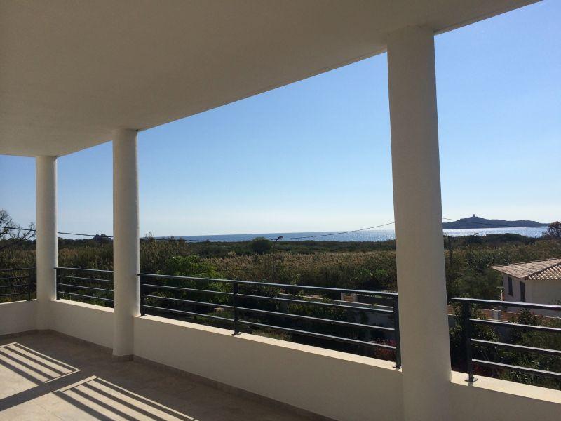 View from terrace Location Villa 112600 Ste Lucie de Porto Vecchio