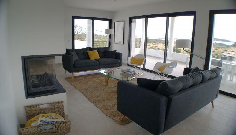 Living room 1 Location Villa 112600 Ste Lucie de Porto Vecchio