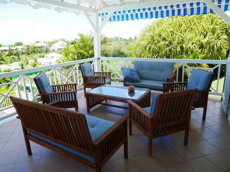 Terrace Location Villa 116772 Saint Francois