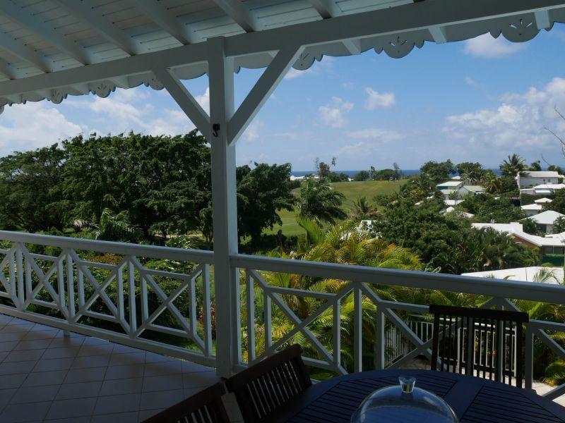 View from terrace Location Villa 116772 Saint Francois