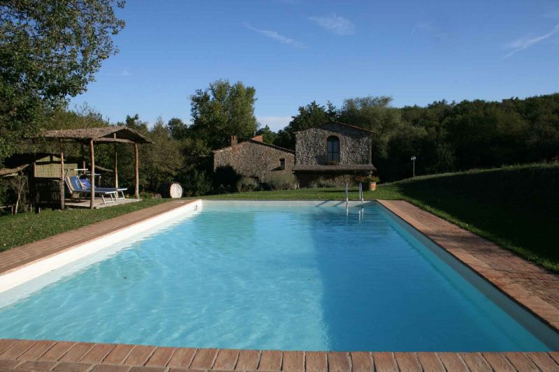 Swimming pool Location House 117228 Arezzo