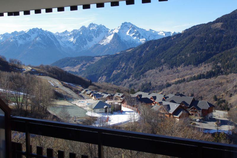 View from the balcony Location Apartment 64015 Saint François Longchamp