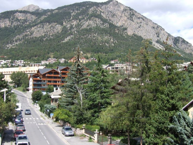 View from the balcony Location Apartment 82894 Briançon