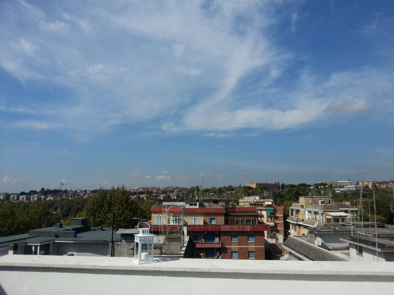 View from terrace Location Apartment 91428 Rome